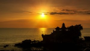 The island in Indonesia is a preferred honeymoon destination.