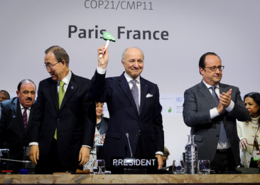 Paris Climate Agreement may soon become an international law