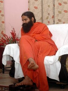 Baba Ramdev, the face of Patanjali.