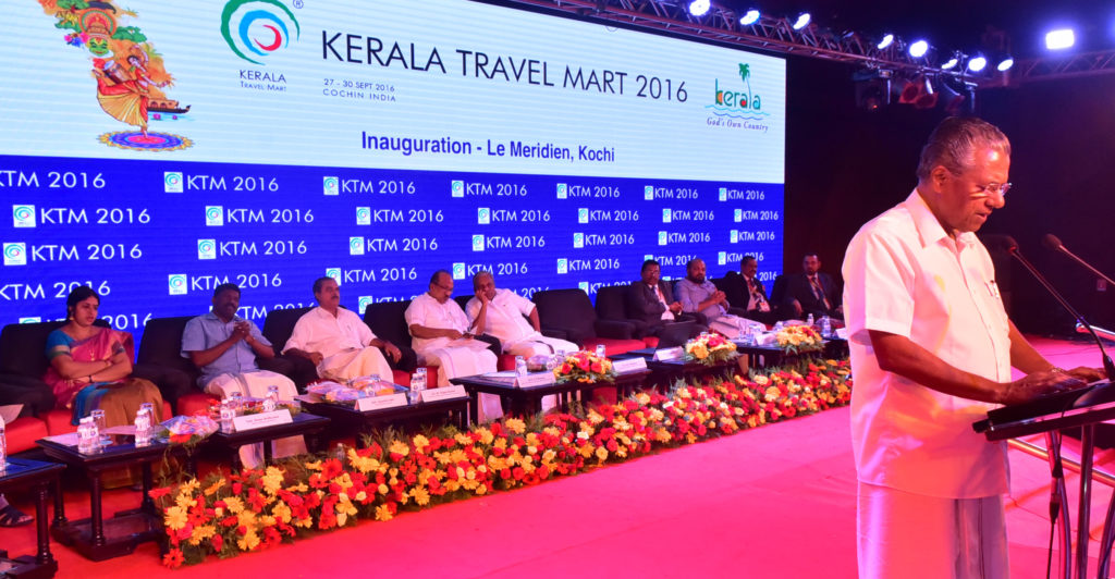 KTM 2016 opening: Chief Minister Pinarayi Vijayan speaks about efforts to improve tourism for all