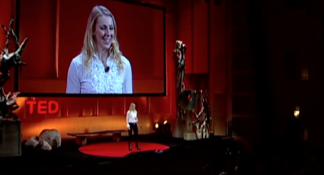 Caroline Casey at TED talk