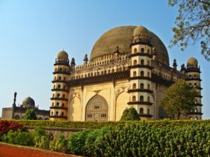 The Gol Gumbaz at Vijayapur, formerly Bijapur, a city in Karnataka with architecture dating back 600 years.