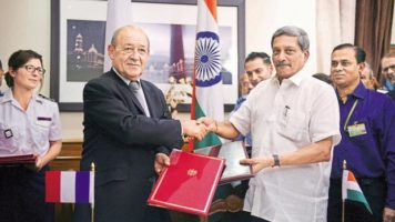 India and France signed the deal for 36 Rafale fighter jets