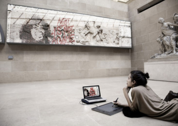 Confluence of technology and art