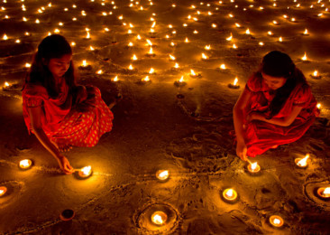Eco-friendly Diwali this year