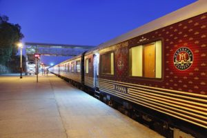 Maharajas' Express- A royal train offering a luxurious lifestyle.