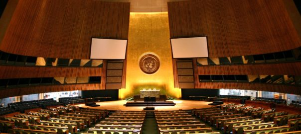 UN voted to negotiate a ban on nuclear weapons in 2017.