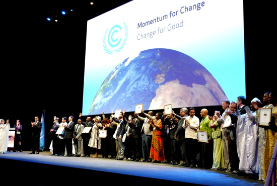 All winners will be honoured at a series of events during the UN climate change conference in Marrakech, Morocco, from November 7-18, 2016