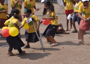 Indians strive to make children 'equally-abled'