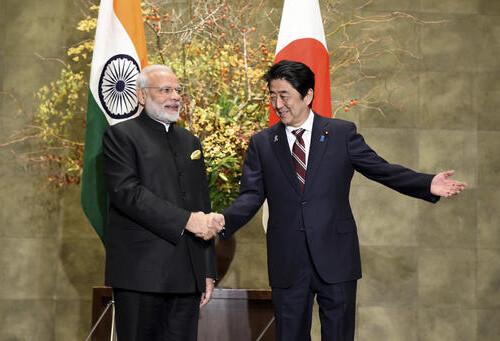Israeli President meets Indian PM for bilateral talks
