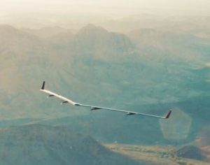 The Aquila aircraft, set to provide internet from the skies. Image- Facebook