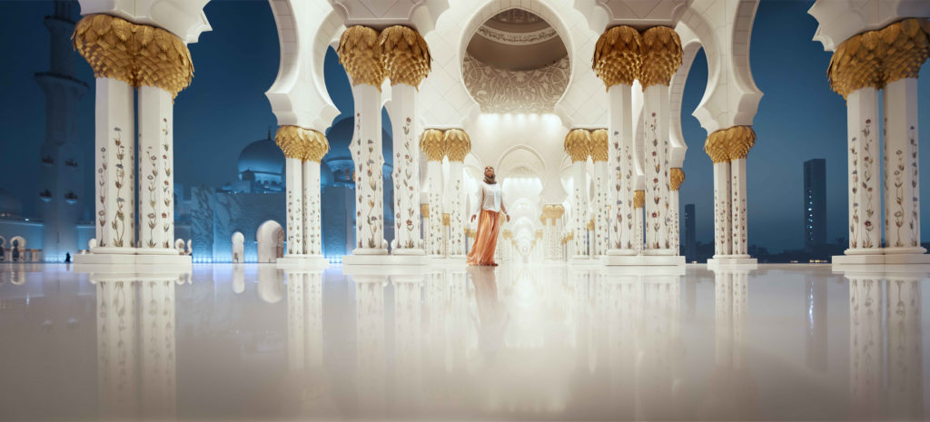 Abu Dhabi's culture is the combination of international influences and a strong commitment to local heritage