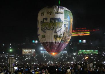 Hot Air Balloon Carnival in Myanmar