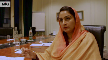 Exclusive Interview with Harsimrat Kaur Badal, Union Minister of Food Processing - INDIA