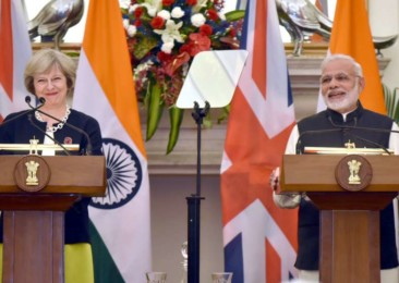 Modi-May meet emphasises on measures against terrorism