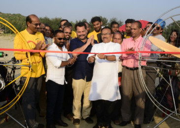 Goa launches motorised paraglide at Mandrem beach to boost tourism