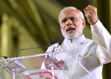 Indian PM seeks support of perturbed citizens