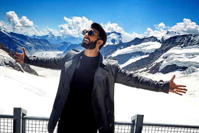 Ranveer Singh is now the official ambassador of Switzerland Tourism