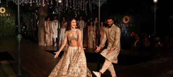 While Ranveer is a delight with his never-ending energy, Vaani too has an arresting presence in the film