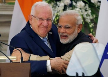 Israeli President meets Indian PM for bilateral talks