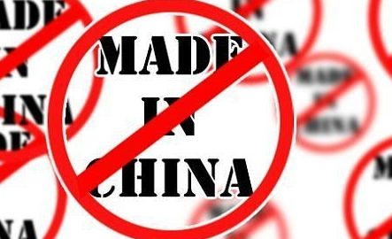 Some citizens are hoping to boycott Chinese goods in India.  Image Source-Indiaopines
