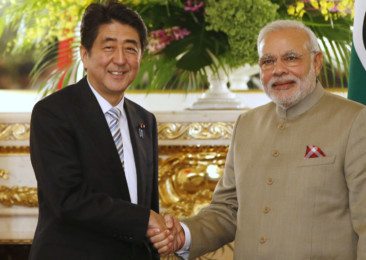 Indian Prime Minister Narendra Modi visits Japan