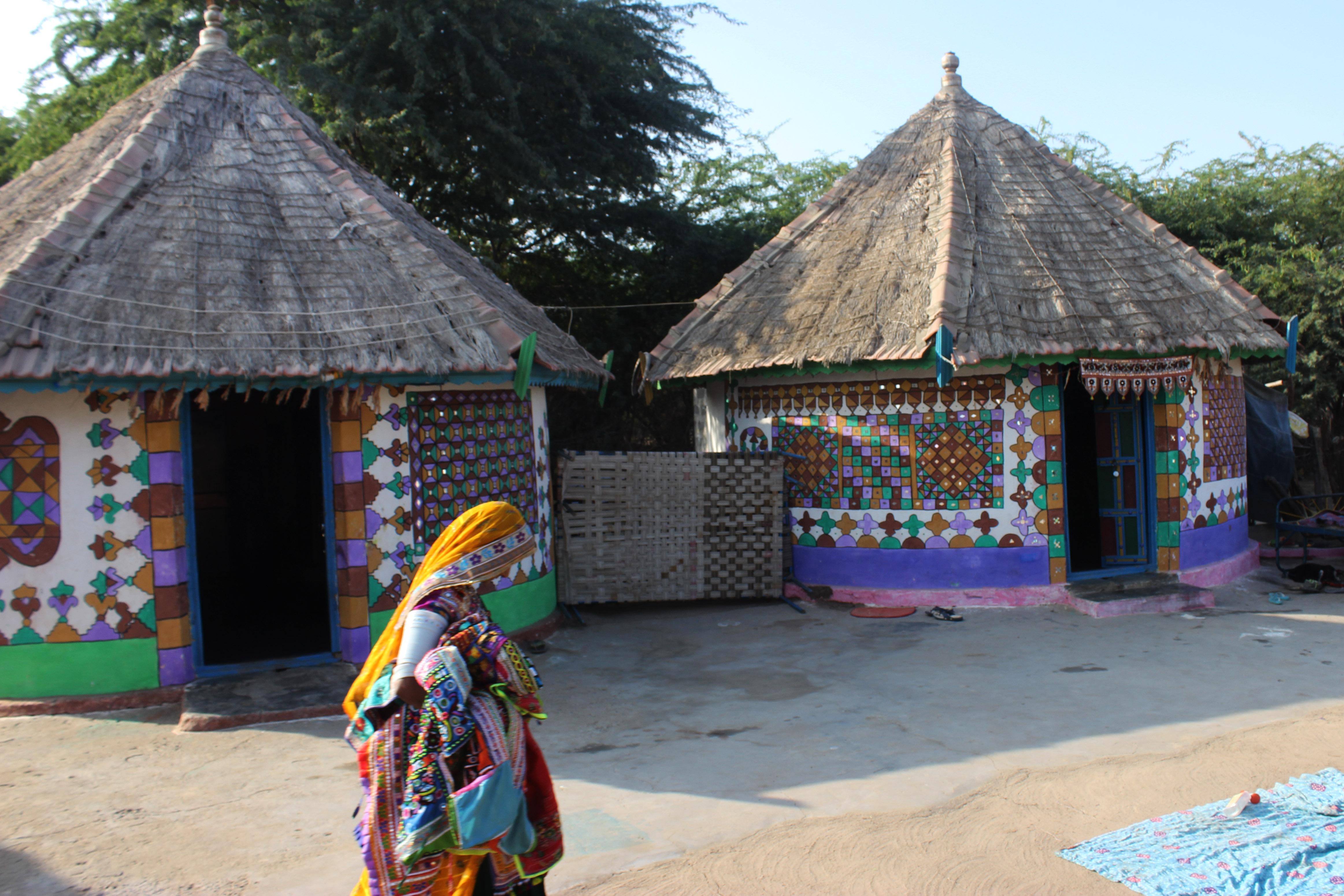 Image result for Kutch, village life of Gujarat