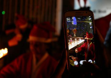 Célébrations de Noël en Inde