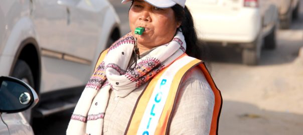 The 'Traffic Heroine' of India
