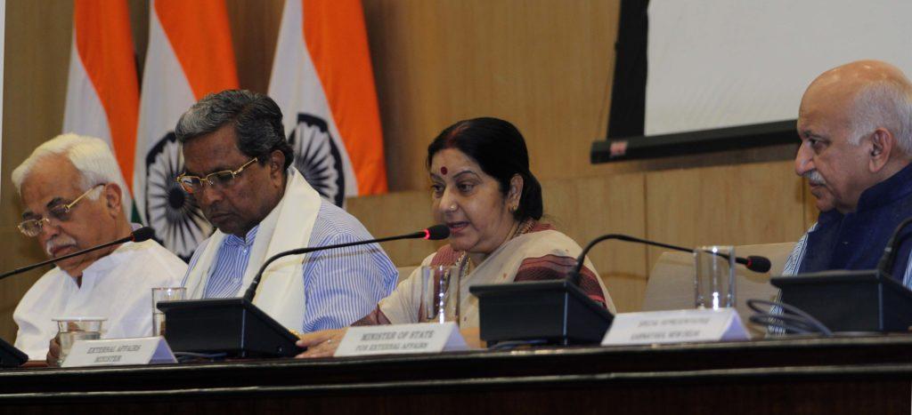 Press Conference in New Delhi to announce 14th PBD Convention in Bengaluru