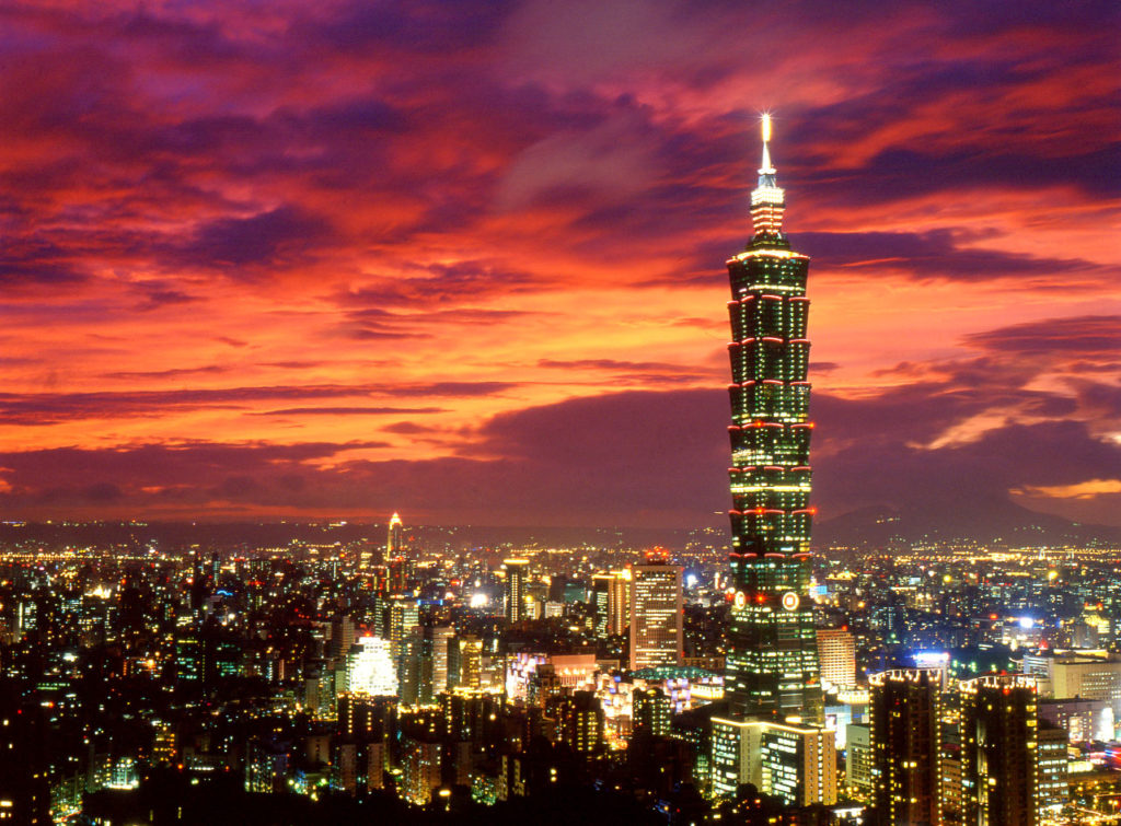 Taiwan is located in the western Pacific Ocean 160 km off the southeastern coast of the Chinese mainland and is a convenient gateway to Asia for the Indian traveller