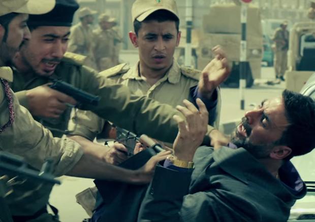 Akshay Kumar in a scene from Airlift