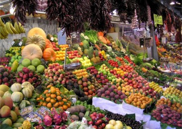 Indian vegetable market slows down