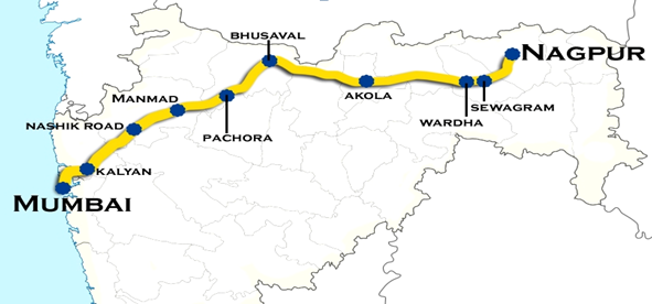 With the Hyperloop, people can travel between Mumbai to Nagpur in mere 35 minutes compared to 14 hours by train.