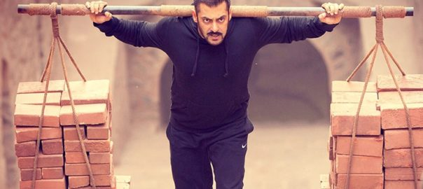 Salman Khan as a wrestler in Sultan