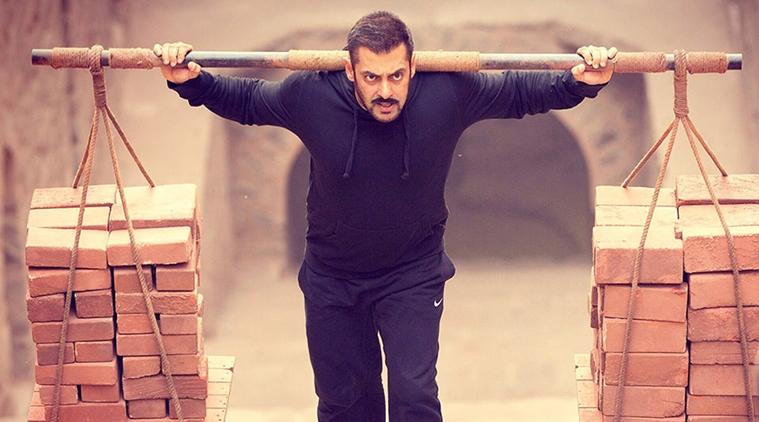 Salman Khan as a wrestler in Sultan