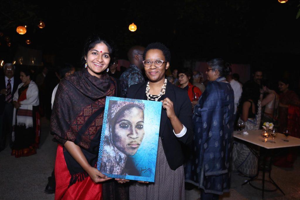 Maipelo Mogotsi, Botswana High Commission & Tanvi Srivastava