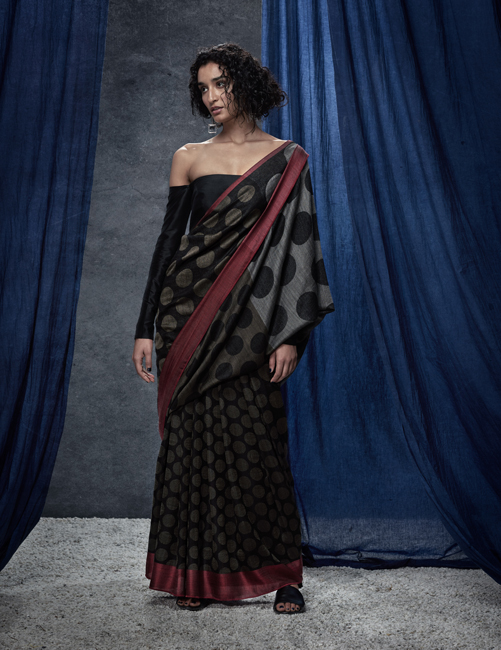 Saree is draping people into its oomph with a traditional touch in the most convenient yet attractive way possible