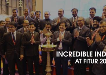 Incredible India at FITUR 2017