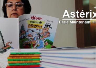 Les aventures d'Astérix traduites en hindi