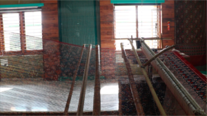 Inside the Patola House, where a saree is being made