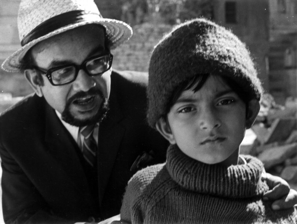 A still from Ray's Sonar Kella - first Feluda flick made in 1974