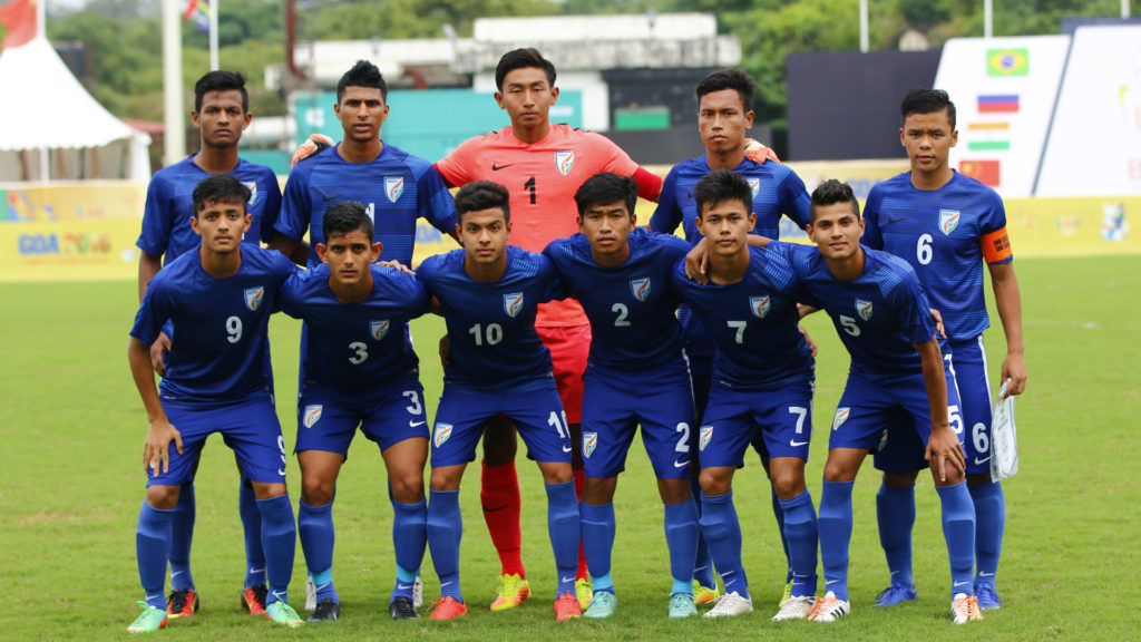 The under-16 Indian National Team that participated in the recent tournament in Russia