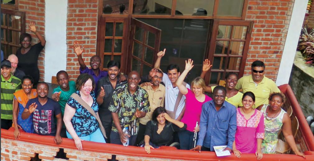 Le groupe des porteurs de projets Kanthari 2016