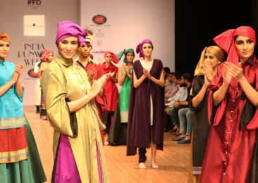 What's trending at fashion shows in India?