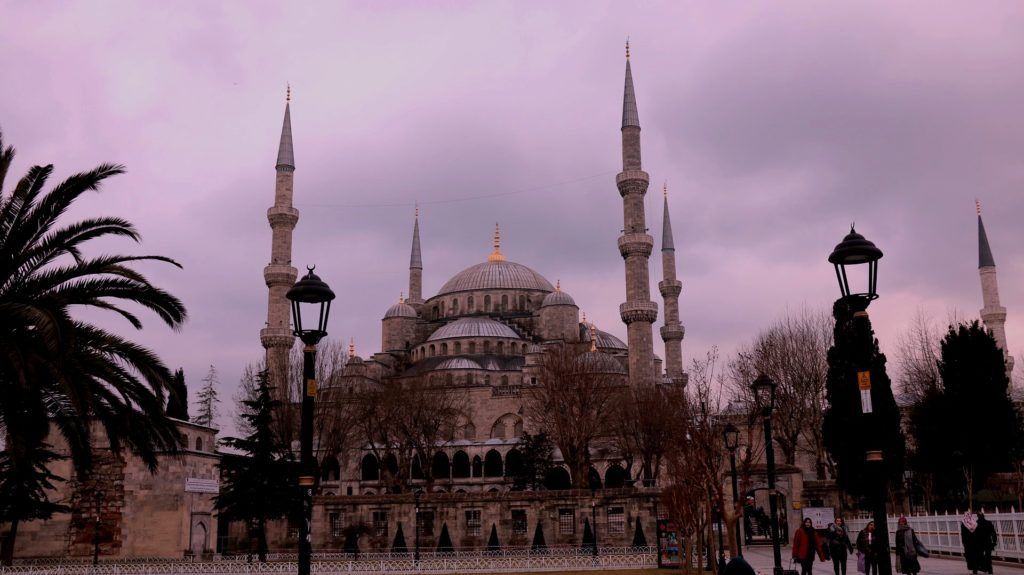 The iconic Blue Mosque in Istanbul