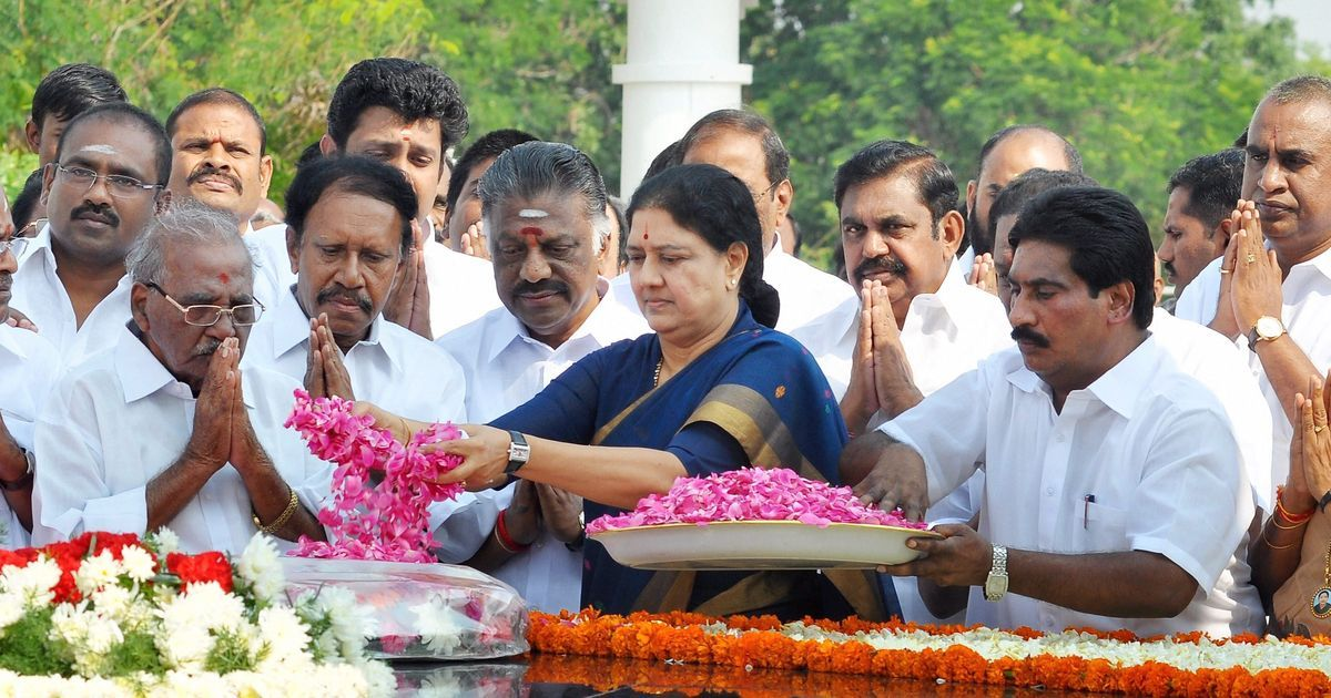 Sasikala is all set to be sworn-in as the third Chief Minister of Tamil Nadu