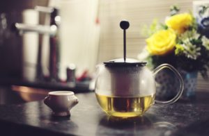 Organic tea is widely available in India