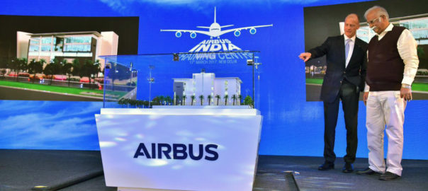 The Airbus India Training Centre will support this ground-breaking initiative