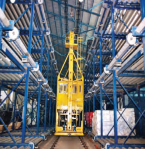 AAI enhanced the cargo handling capacity multi-fold by using vertical level of storage